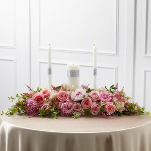Arrangement - The Worldwide Romance™ Unity Candle Arrangement J-W18-4668