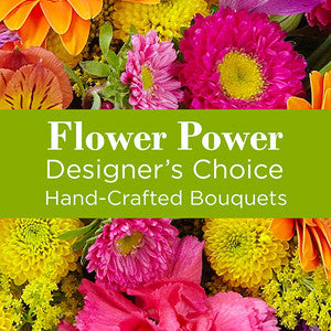 Bouquet - The Multi Colored Florist Designed Bouquet EO-6042