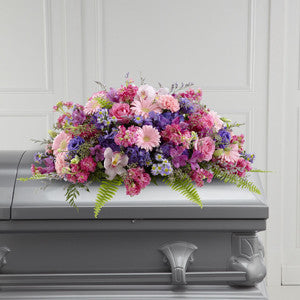 Casket - The Glorious Garden™ Casket Spray J-S27-5004