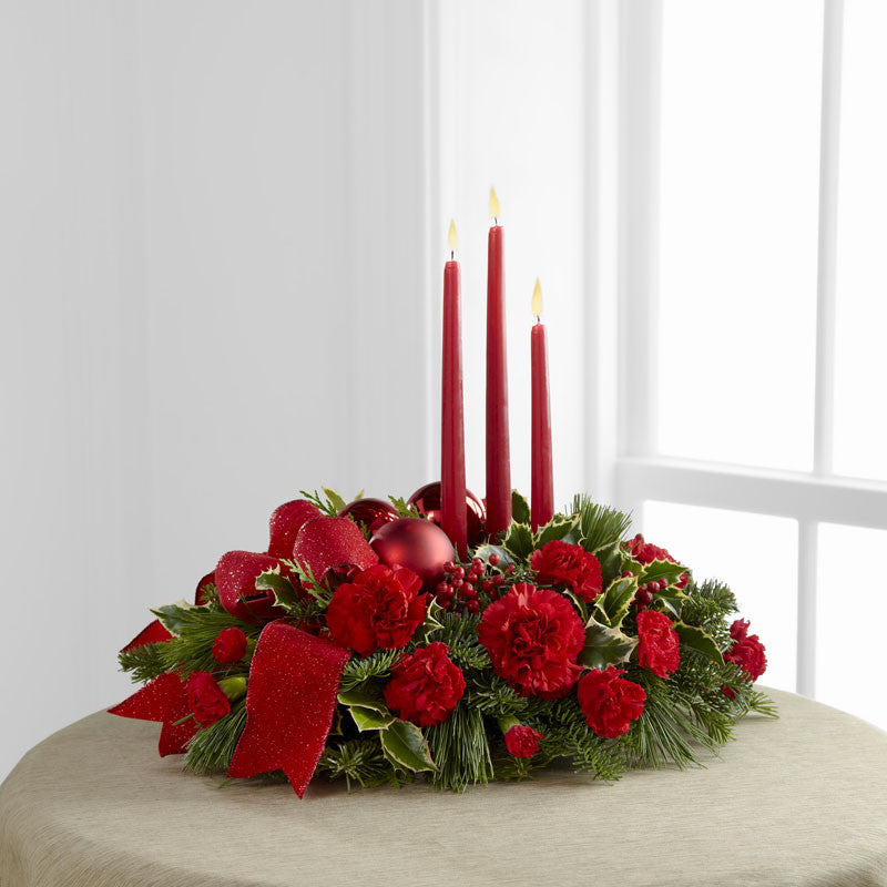 The Lights of the Season Centerpiece