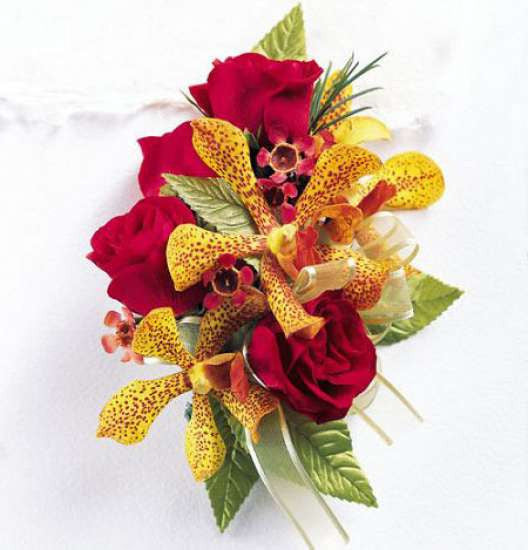 Corsage - Orchid Rose Wrist Corsage