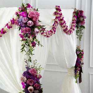 Decor - The Color & Light™ Chuppah Decor J-W40-4722