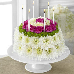 Floral Cake - The Wonderful Wishes™ Floral Cake J-D2-4896