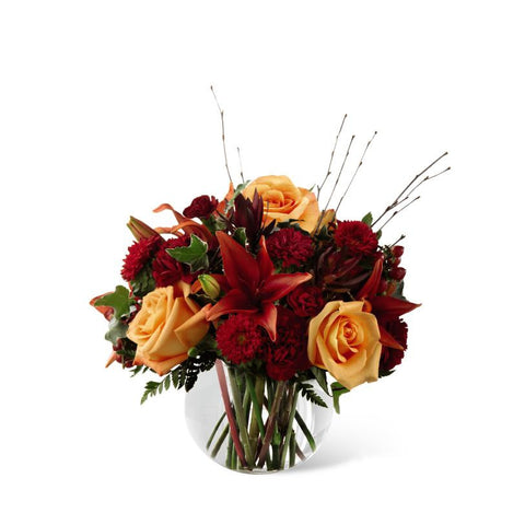Vase - The Autumn Beauty Bouquet J-B2-4922