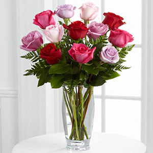 Vera Wang Exclusives - The Captivating Color™ Rose Bouquet By Vera Wang J-VW3