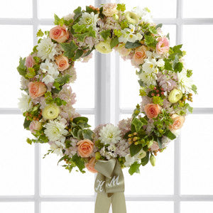 Wreath - The Garden Splendor™ Wreath J-W32-4704