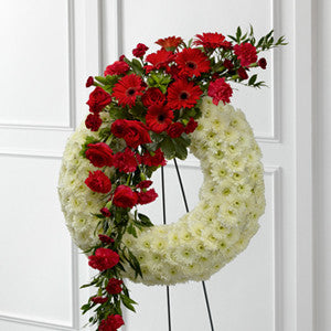 Wreath - The Graceful Tribute™ Wreath J-S44-4542