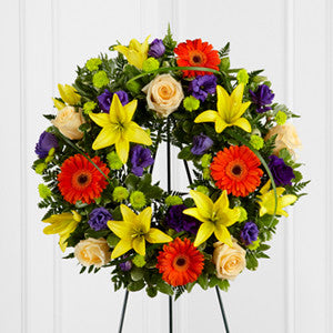 Wreath - The Radiant Remembrance™ Wreath J-S40-4531