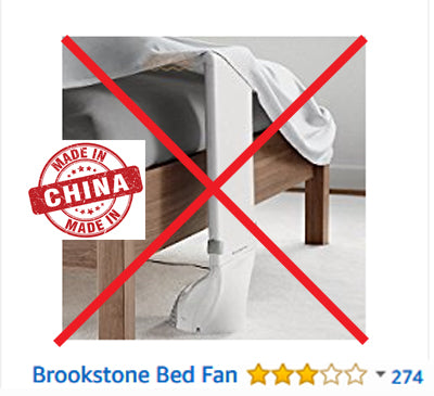 The Difference Between Bfan And Brookstone Bed Fan Bedfans Usa