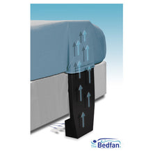 "UK - Bedfan 1.5-A for Beds 27"" to 37"" Tall For UK plug type Power"