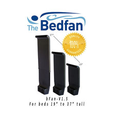 "Bedfan 1.5-B for Beds 19"" to 29"" Tall Made in Texas"