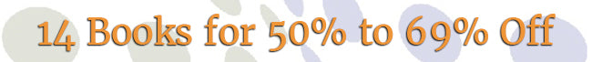 New Year's Sale - 50% to 69% Off Books