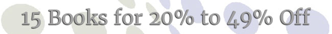 New Year's Sale - 20% to 49% Off Books