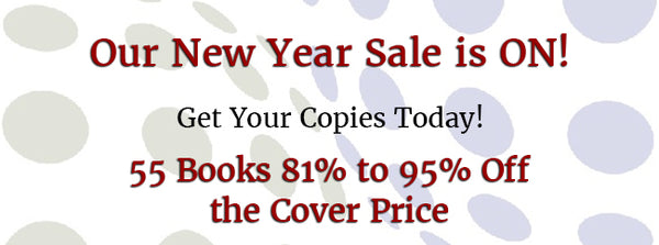 2020 New Year's Sale - 81% to 95% OFF 55 Books