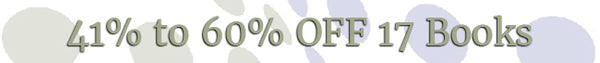2020 New Year's Sale - 41% to 60% OFF 17 Books