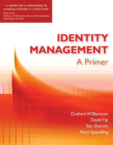 Identity Management Front Cover