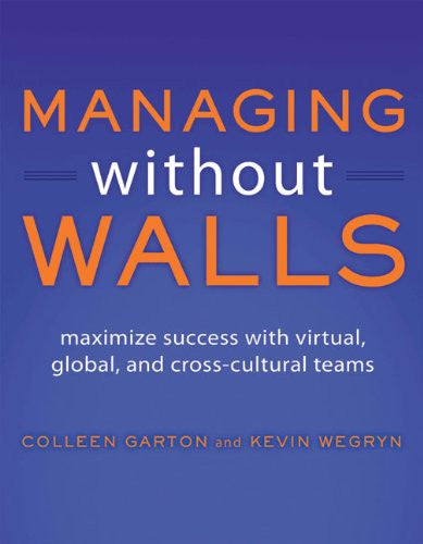 Managing Without Walls Front Cover