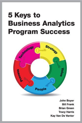 5 Keys to Business Analytics Program Success Front Cover