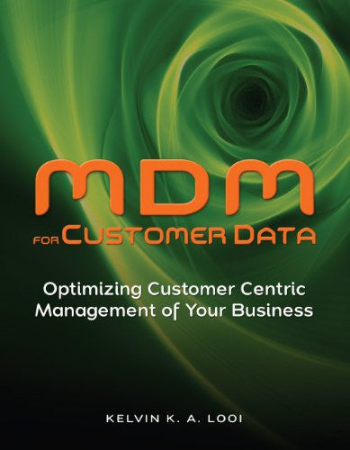 MDM for Customer Data Front Cover