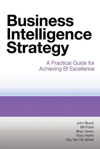 Business Intelligence Strategy Front Cover