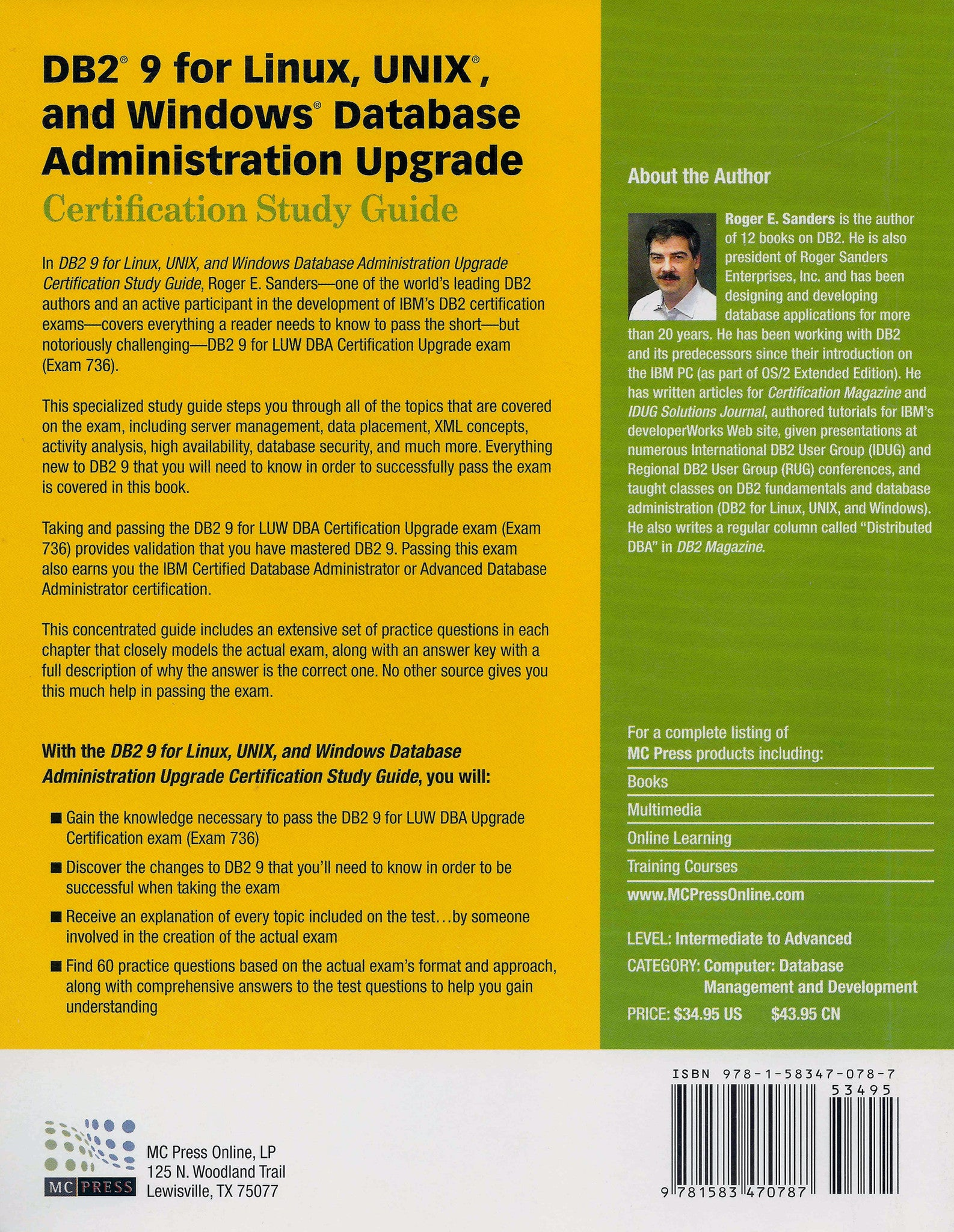 Db2 9 For Linux Unix And Windows Database Administration Upgrade
