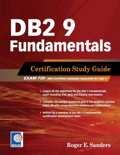 DB2 9 Fundamentals (Exam 730) Front Cover