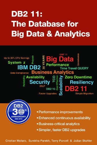 DB2 11: The Database for Big Data and Analytics Front Cover