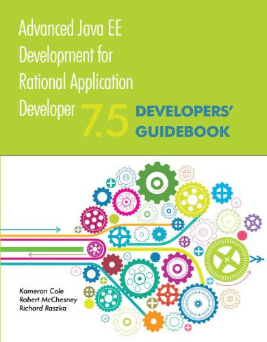 Advanced Java EE Development for Rational Application Developer 7.5 Front Cover