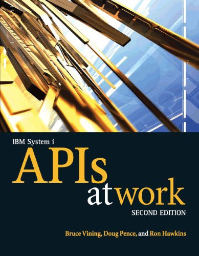 IBM System i APIs at Work Front Cover