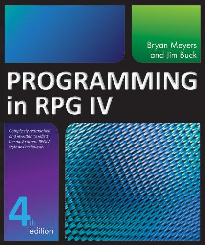 Programming in RPG IV Front Cover