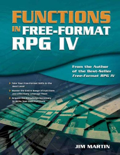 Functions in Free-Format RPG IV Front Cover