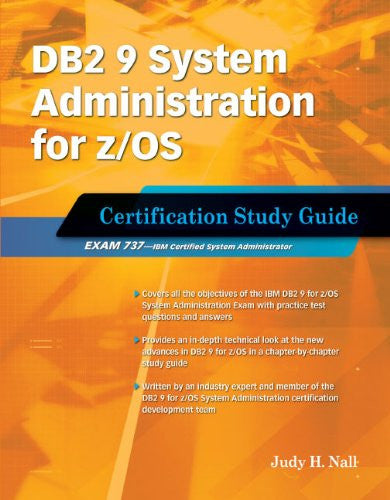 DB2 9 System Administration for z/OS (Exam 737) Front Cover