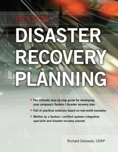 System i Disaster Recovery Planning Front Cover