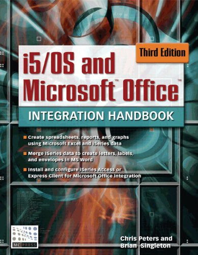 i5/OS and Microsoft Office Integration Handbook Front Cover