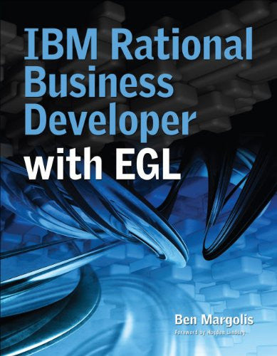 IBM Rational Business Developer with EGL Front Cover