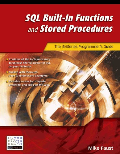 SQL Built-In Functions and Stored Procedures Front Cover