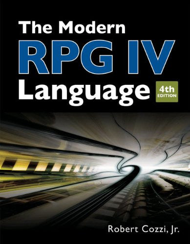 The Modern RPG IV Language Front Cover