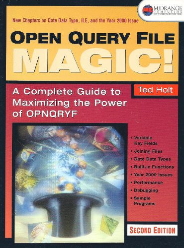 Open Query File Magic Front Cover