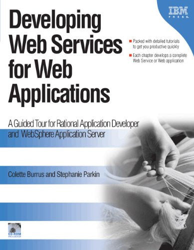 Developing Web Services for Web Applications Front Cover