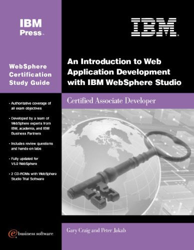 An Introduction to Web Application Development with IBM WebSphere Studio (Exam 285) Front Cover