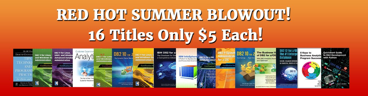 BIG Summer Sale - $5 Books