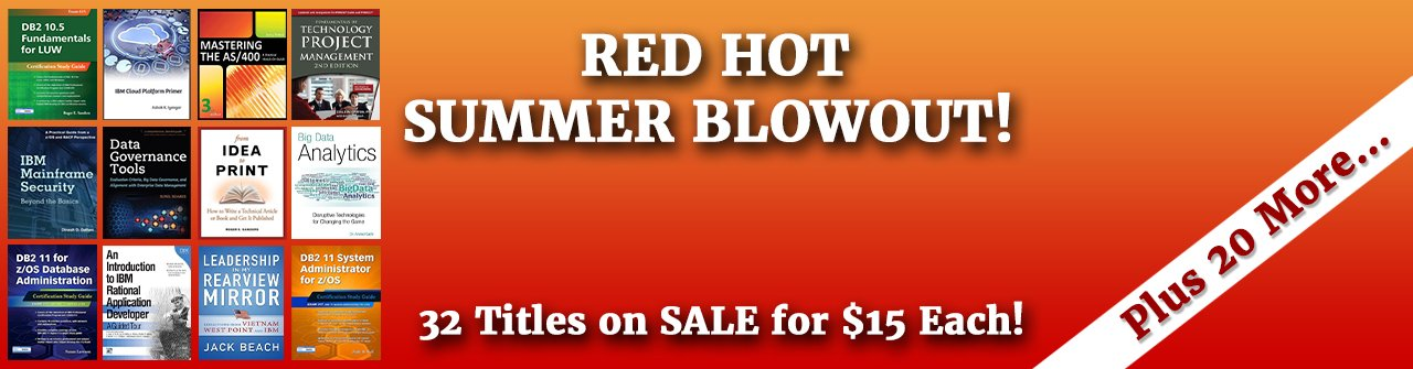 BIG Summer Sale - $15 Books