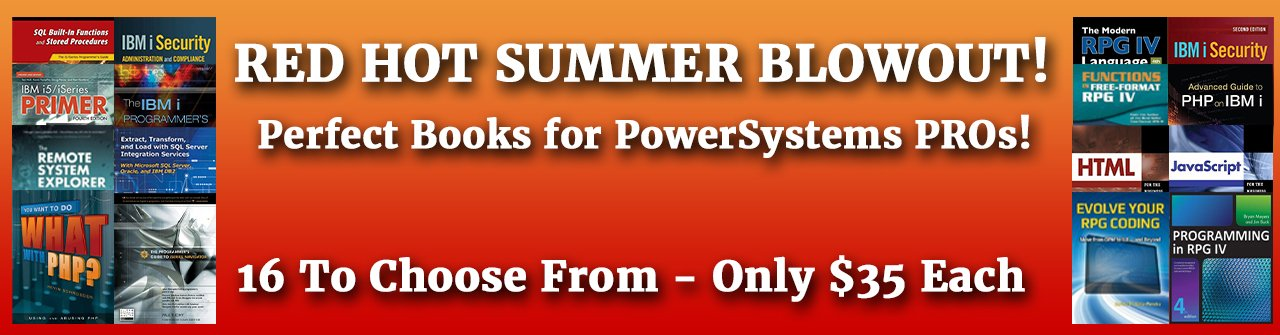 BIG Summer Sale - $25 Books