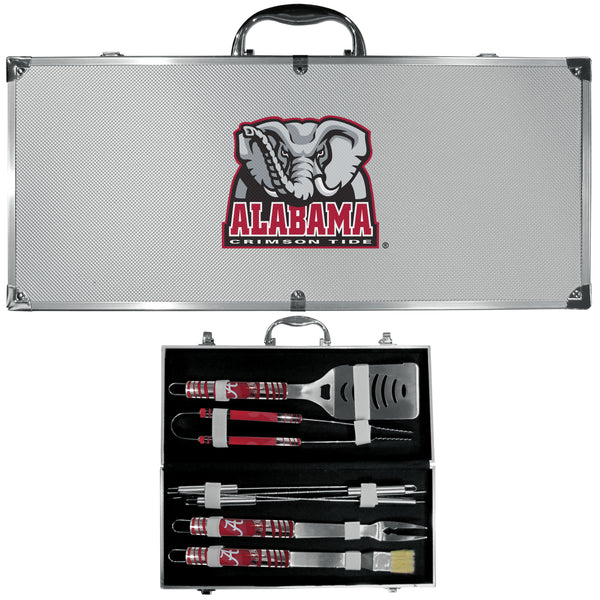 Alabama Crimson Tide 8 pc Tailgater BBQ Set