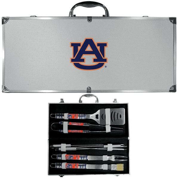 Auburn Tigers 8 pc Tailgater BBQ Set