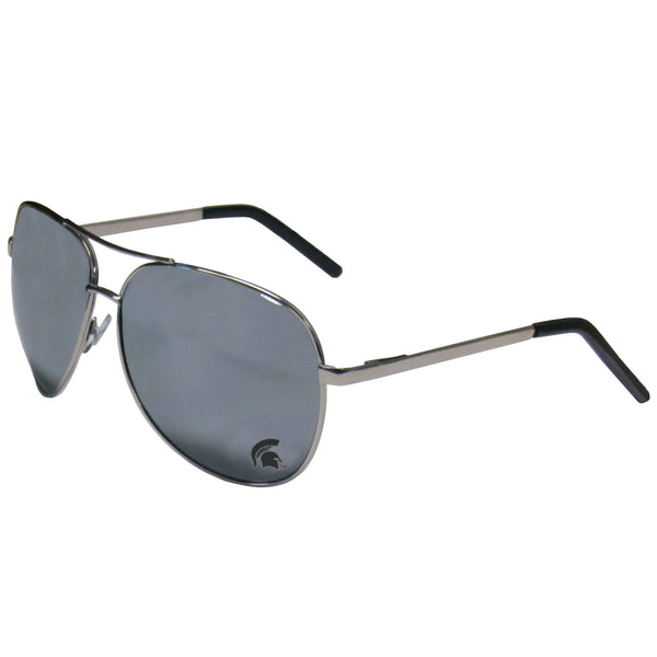 Michigan St. Spartans Aviator Sunglasses