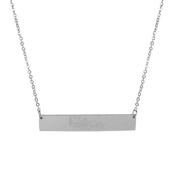 Florida Gators Bar Necklace