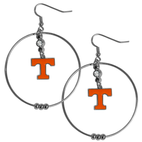 Tennessee Volunteers 2 Inch Hoop Earrings