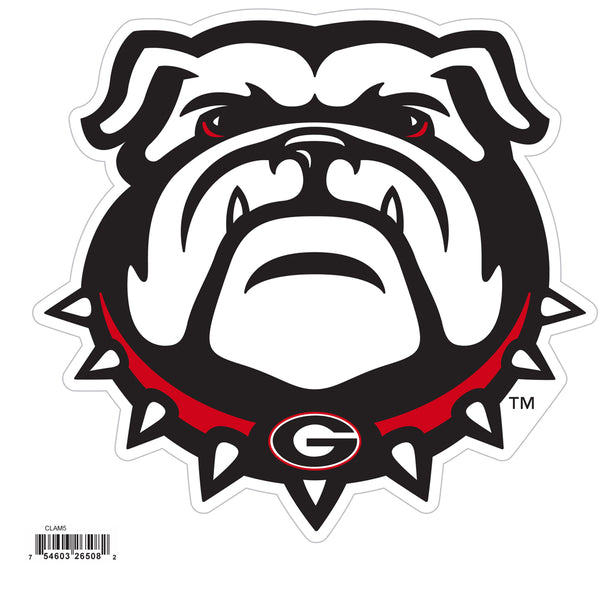 Georgia Bulldogs 8 inch Logo Magnets