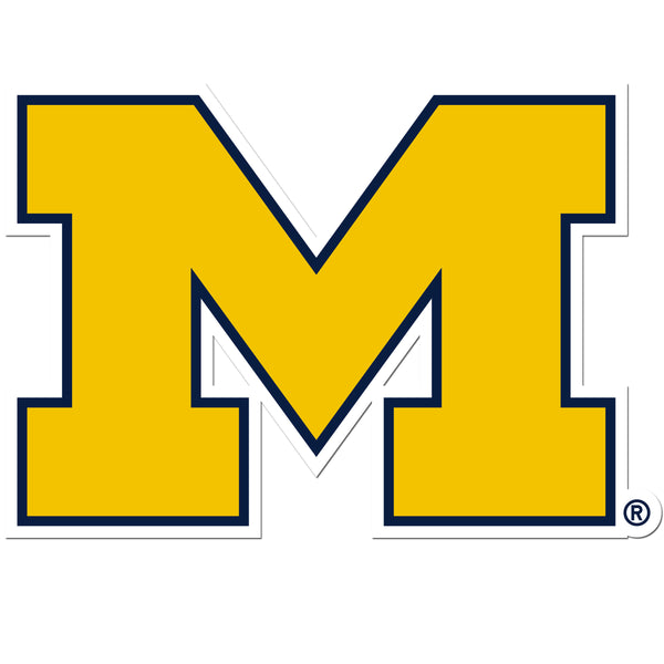 Michigan Wolverines 8 inch Auto Decal